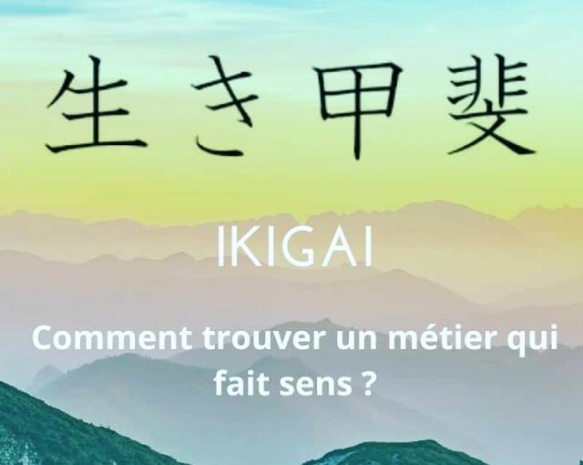 Trouver enfin un métier qui fait sens avec l'ikigai